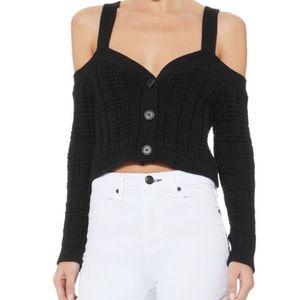 Intermix- Rhea Cropped Cardigan Sweater!